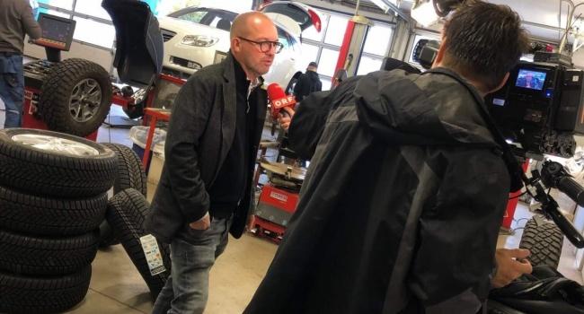 ORF Burgenland zu Gast bei Reifen Ritz