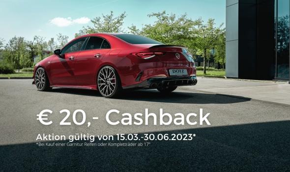 Neue Sommerreifen bringen Cashback